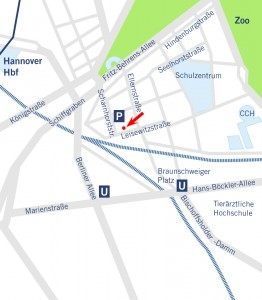 Büro Hannover, Leisewitzstraße 28, 30175 Hannover, Telefon +49 511.85609-0