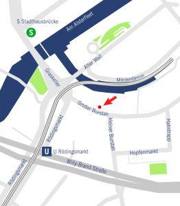 Hamburg , Großer Burstah 42, 20457 Hamburg, Telefon +49 40.441236-30